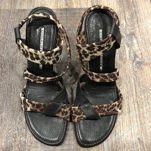 Donald J Pilner Leopard Heels